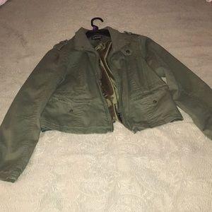Lady's zipper jacket